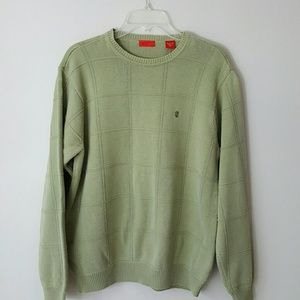 IZOD | 100% Cotton Crewneck Sweater-Men's Med